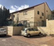 Semi-Detached Home for Sale Kochav Yaakov: 10 rooms split into 3 apts.